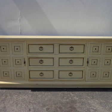 Cabinet Sideboard Console Vintage Furniture Asian Hollywood RegencyChinoiserie Chest Tv Stand Table Wood Campaign Boho CUSTOM PAINT AVAIL by DejaVuDecors