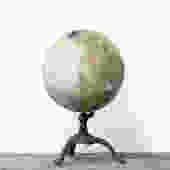 1920s VINTAGE WORLD GLOBE by C.S. Hammond & Co.