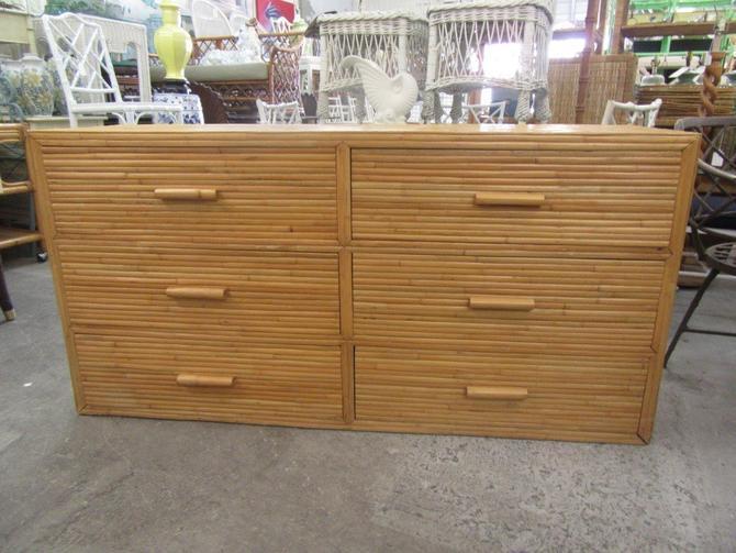 Split Bamboo Double Dresser