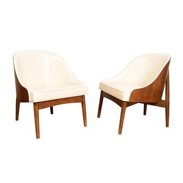 Pair of 'Kodawood' Club Chairs