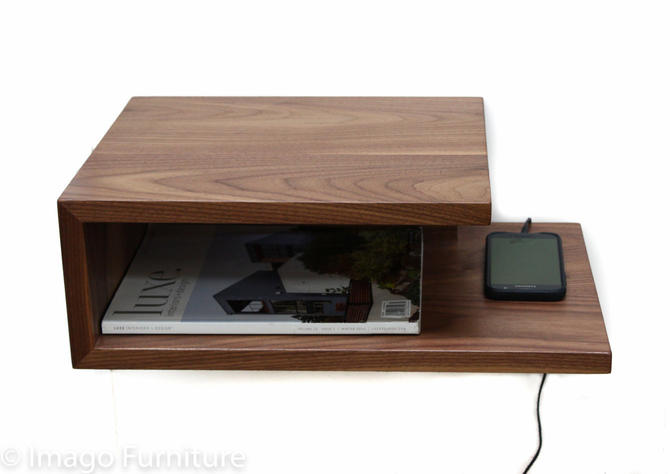 Open Floating Nightstand by ImagoFurniture