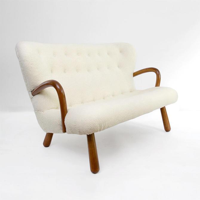 Phillip Arctander designed Scandinavian modern settee