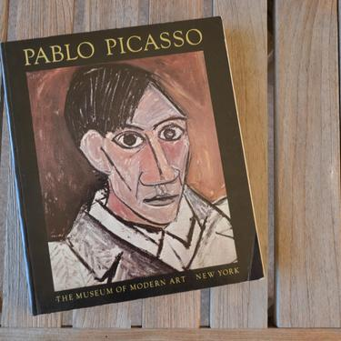 Pablo Picasso: A Retrospective, Museum of Modern Art - Paperback First Edition Art Book, 1980 by SourcedModern