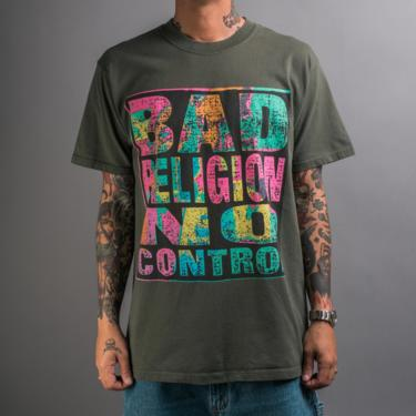 Vintage 90's Bad Religion No Control T-Shirt by MillsAveVintage