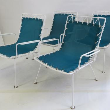 Pipsan Saarinen Swanson Sol Air Chairs Set of 4 for Ficks Reed Co.