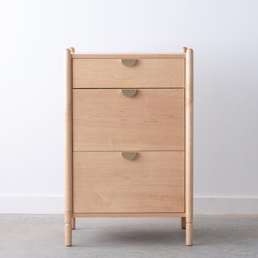 Sawyer Office Cabinet - Available in other woods by HedgeHouse