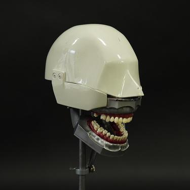 Aluminum Dental Phantom with Orthodontic Teeth Set