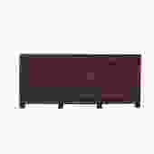 Distressed OxBlood Red Finish High Credenza Console Buffet Table cs5383S