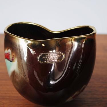 Carstens Tonnieshof Vase | Mid Century Modern Abstract Vase | MCM Vase | West German Pottery by BrassBluebonnets