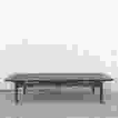 MCM Coffee Table with Black Vinyl by Martinsville