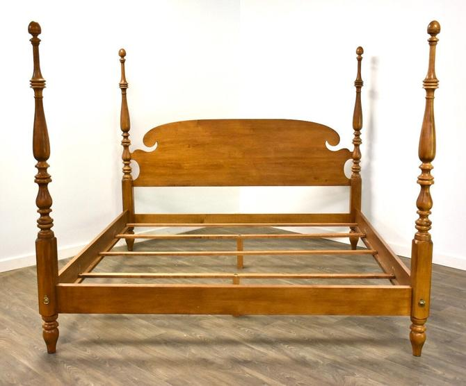 Ethan Allen Solid Maple King Bed by mixedmodern1
