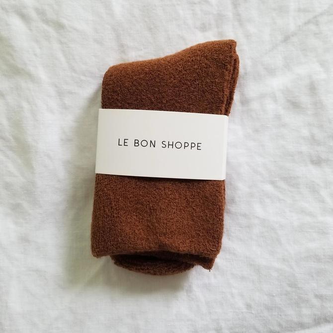 Le Bon Shoppe Cloud Socks - Sepia