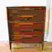 Mid Century Modern Tall Dresser by Johnson Carper