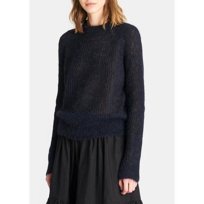 Demylee Chelsea Mohair Sweater - Navy