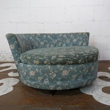 Rounded Lounge Chair - SOLD
