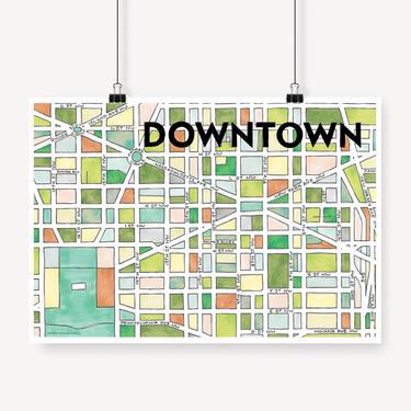 Downtown Print