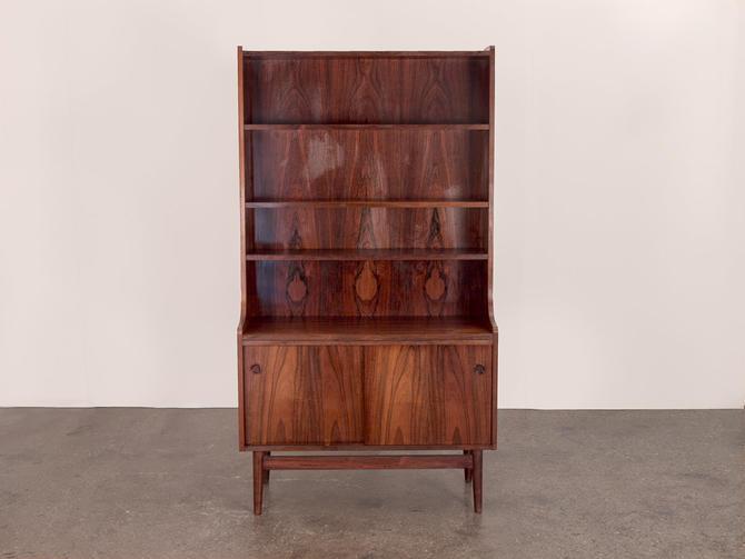 Scandinavian Rosewood Bookcase by openairmodern