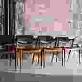 Set of 4 Teak dining chairs by Kai Kristiansen