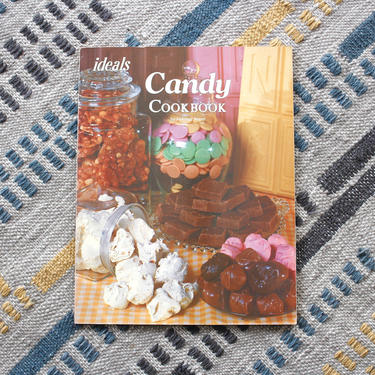 Vintage 1970s Candy Cookbook -  Caramel Fudge Taffy Dessert Recipes Food Photography Softcover Cookbook by SecondShiftVintage