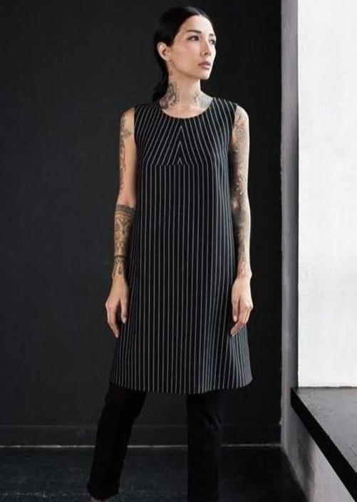 Pinstripes Dress