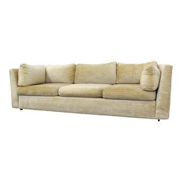 Mid-Century Danish Modern Milo Baughman Style Stratford 3-Seat Sofa by AnnexMarketplace
