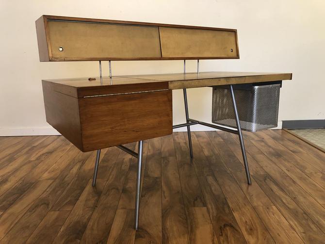 George Nelson Vintage Mid Century Desk by Vintagefurnitureetc