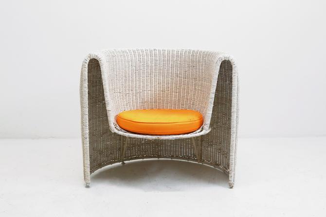 Sculptural Wicker Chair by BetsuStudio