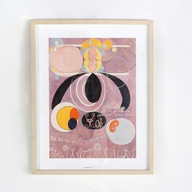 Framed Hilma Af Klint Print by BetsuStudio