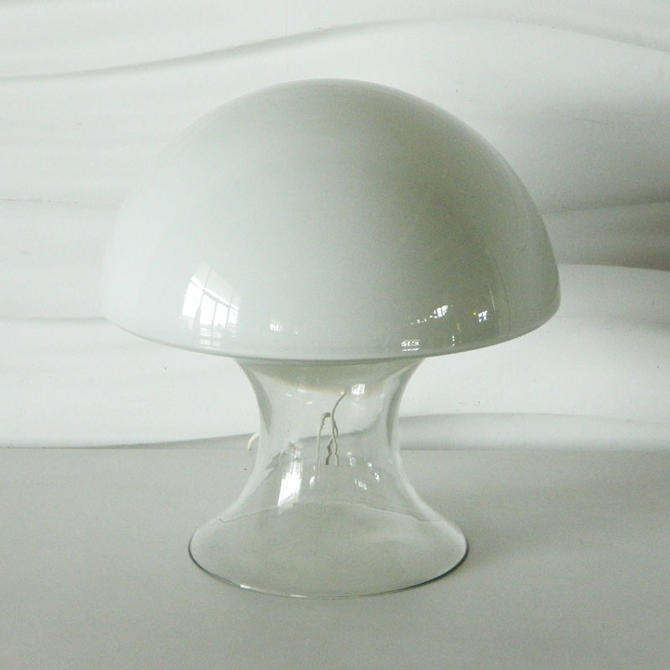 HA-13200 Murano Italian Glass Mushroom Lamp