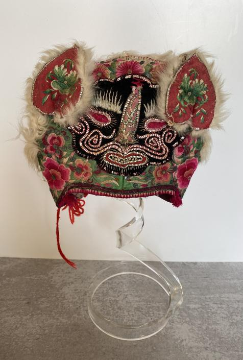 Antique Chinese Toddler Hat
