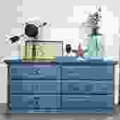Blue Moon 6 Drawer Dresser