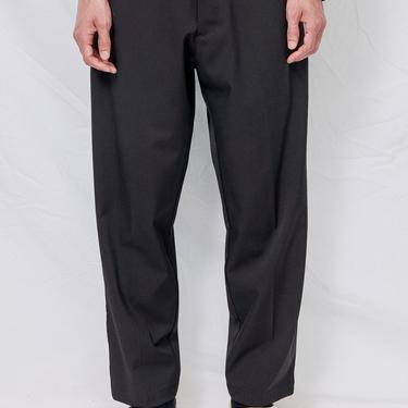 Black Suiting Crop Pant