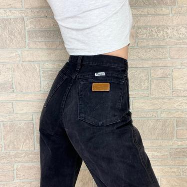 Wrangler Black Western Jeans / Size 27 by NoteworthyGarments