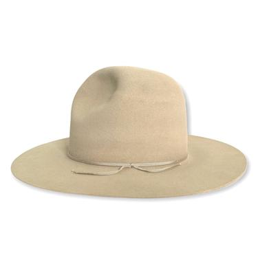 Vintage 1940s/1950s CIRCLE A by GW Alexander Cowboy Hat ~ size 7 1/8 ~ Gus / Tom Mix ~ Beaver Fur Felt ~ Wide Brim ~ Raw Edge ~ by SparrowsAndWolves