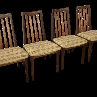 1960s Vintage Teak G Plan Dining Chairs - Set of 4