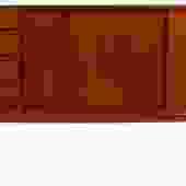 Gunni Omann Model 18 Rare Tall Teak Sideboard / Credenza