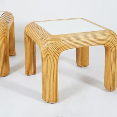 Pencil Reed End Table by BetsuStudio