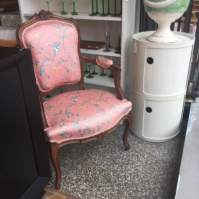 Sweet little pink chair, one of a pair