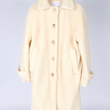 Matisse Coat - Ivory Sherpa