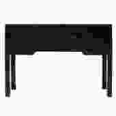 Chinese Oriental Black Lacquer Drawers Foyer Side Table cs5160S