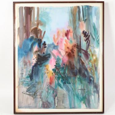 Gracia Dayton Framed Watercolor
