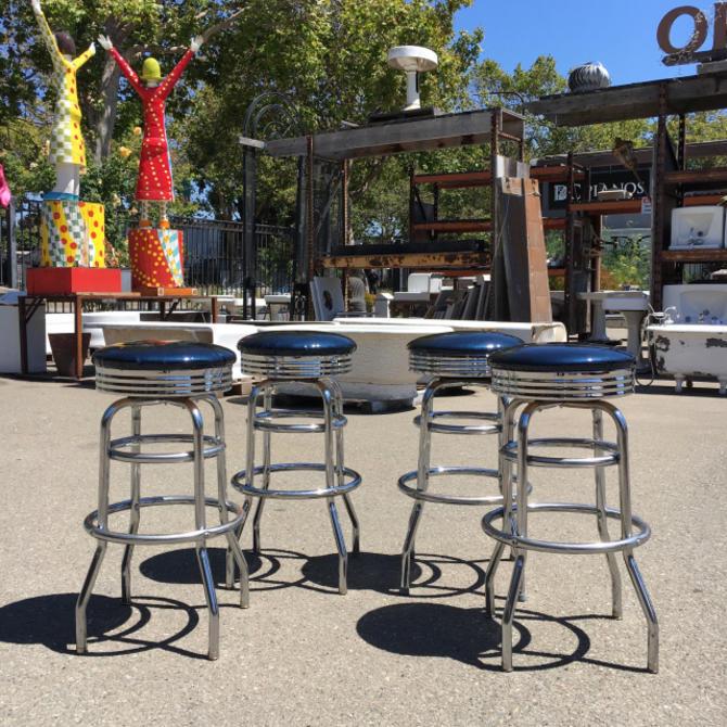 Set of 4 Diner Bar Stools
