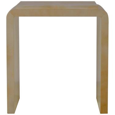 Chic Large Parchemin Side Table