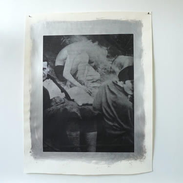 The Gropius Picnic Acrylic on Heavy Drawing Paper (signed)