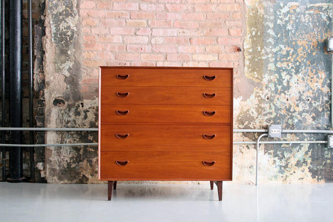 Danish Teak Dresser by Peter Hvidt & Orla Molgaard