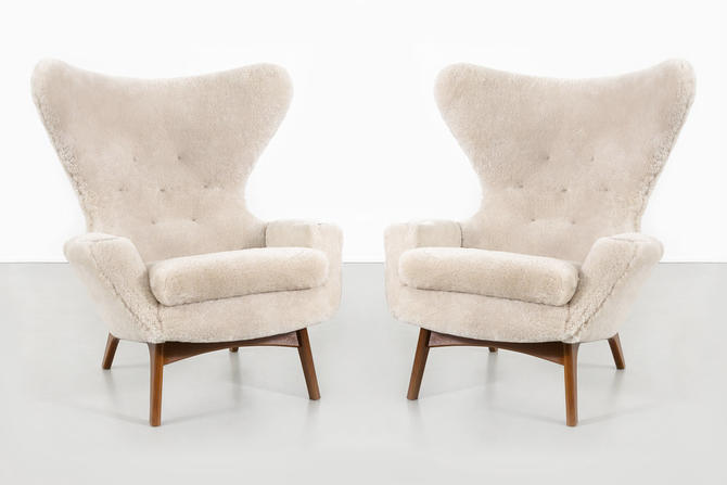 ADRIAN PEARSALL WINGBACK CHAIRS