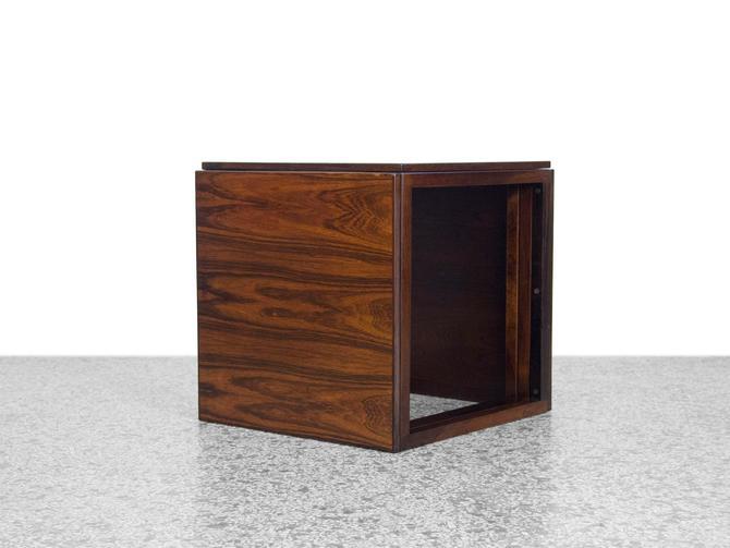 Kai Kristiansen Rosewood Nesting Tables Cube by JefferyStuart