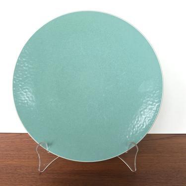Sasaki Colorstone Salad Plate In Vert De Gris, Massimo Vignelli Sea Foam Green Replacement Plate by HerVintageCrush