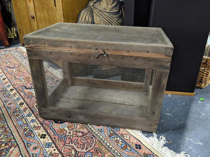 Wire Mesh Storage Box