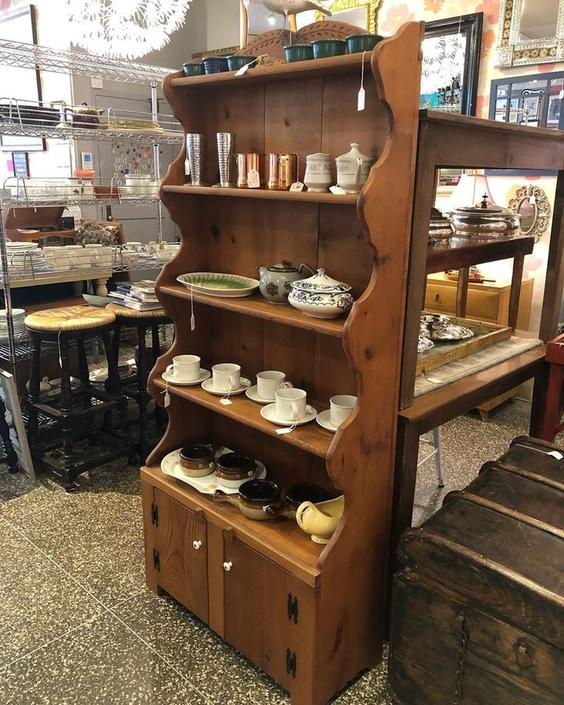 Pine bookcase / hutch, only $395!